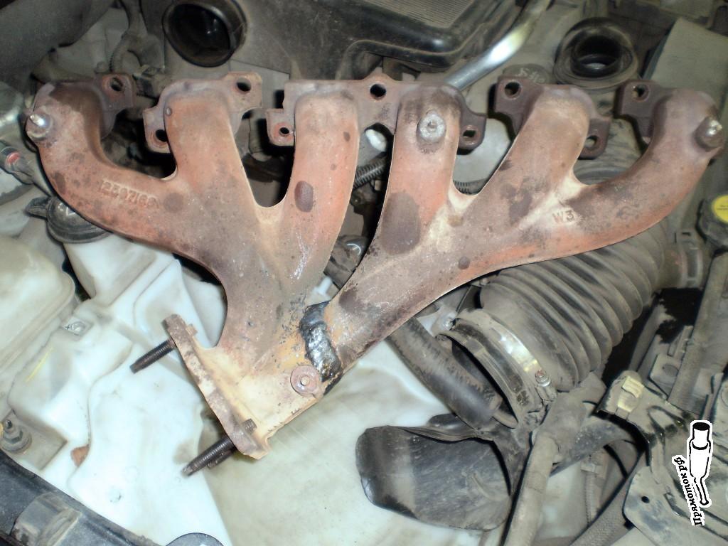 Ремонт коллектора Chevrolet TrailBlazer — прямоток.рф