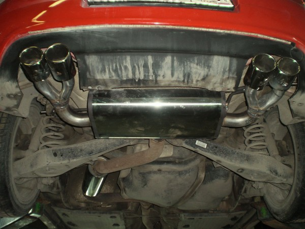 Замена глушителя Фольксваген Гольф 5 GTI
