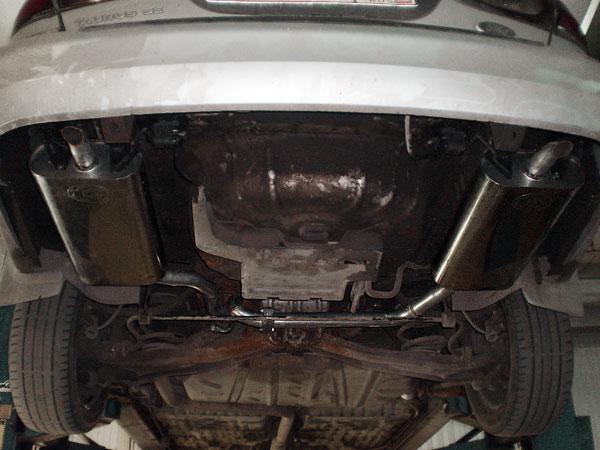 Раздвоенный глушитель Форд Таурус