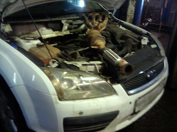 Замена гофры Форд Фокус 2