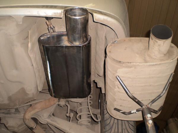 Прямоточный глушитель Тойота Алтеза