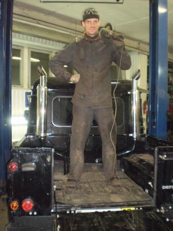 Глушители для Land Rover