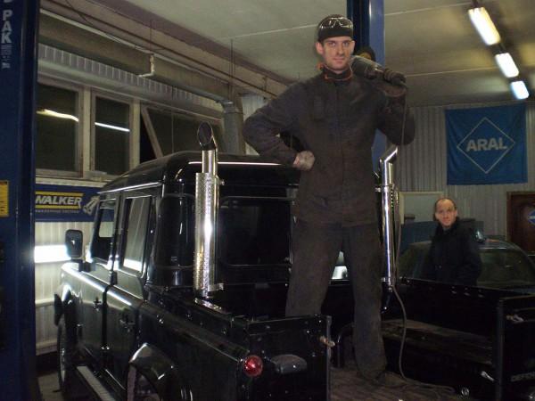 Тюнинг глушителей Land Rover Defender
