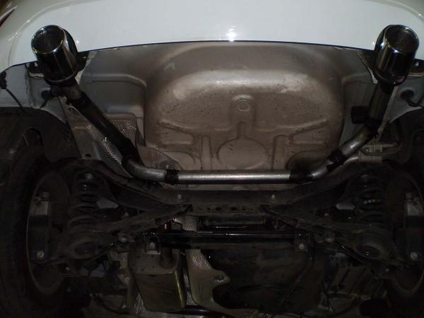 Раздвоенный глушитель Форд Фокус 2