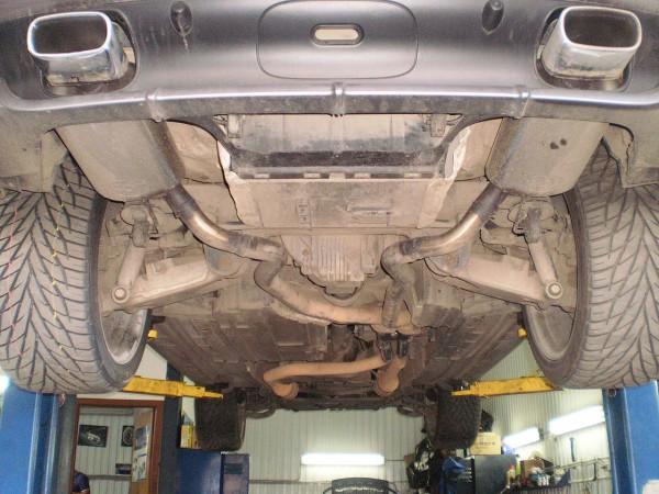 Выхлопная система BMW X5 E53