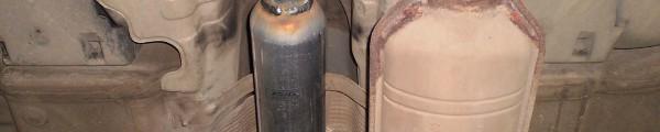 Замена резонатора Мерседес-Бенц W203 2005гв